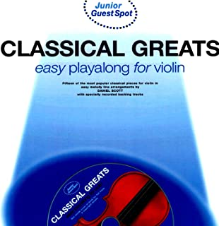 Easy Playalong for Violin: Classical Greats