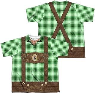 Oktoberfest Lederhosen Youth Or Boy's Sublimated T Shirt