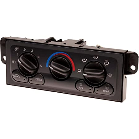 ACDelco 15-72881 GM Original Equipment Heating and Air Conditioning Control Panel with Rear Window Defogger Switch