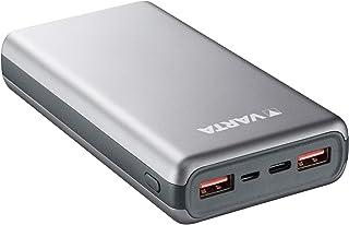 VARTA Power Bank Fast Energy 20 000 mmAh, inkl. laddningskabel (1 x Micro USB 1 x USB typ C PD 5V3.0A, 9V/2A, 12V/1,5A)