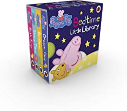 Peppa Pig: Bedtime Little Library Children English Story Book - 4 books collection