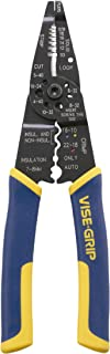 IRWIN VISE-GRIP Wire Stripping Tool / Wire Cutter, 8-Inch...