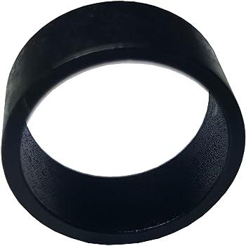 """100 PIECES 1/2"""" PEX COPPER CRIMP RING (BLACK-OXIDIZED SURFACE)"""