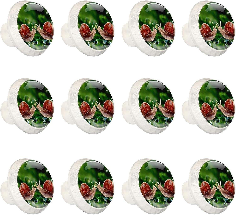 Zuyoon Dresser Knobs and pulls 55% OFF Snail Alternative dealer Animal Cupboard Cabinet Han