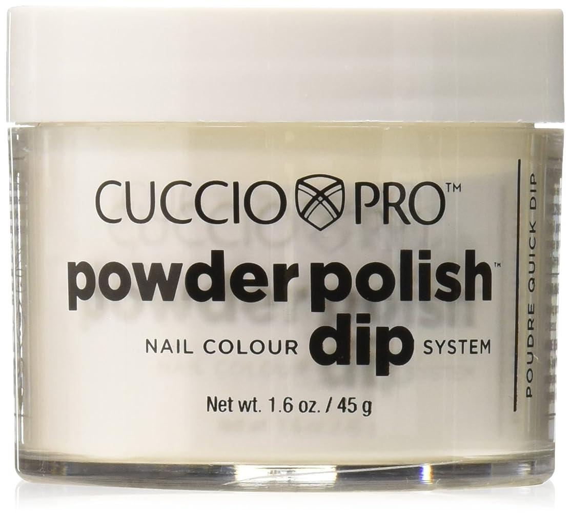 ゴールデン予感銃Cuccio Pro - Powder Polish Dip System - White - 1.6 oz / 45 g