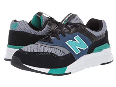 New Balance Kids 997H (Big Kid) (Black/Verdite) Boys Shoes