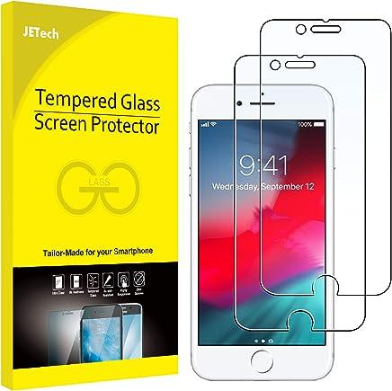 JETech Protector de Pantalla Compatible iPhone 8, iPhone 7, iPhone 6s y iPhone 6, Vidrio Templado, 2 Unidades