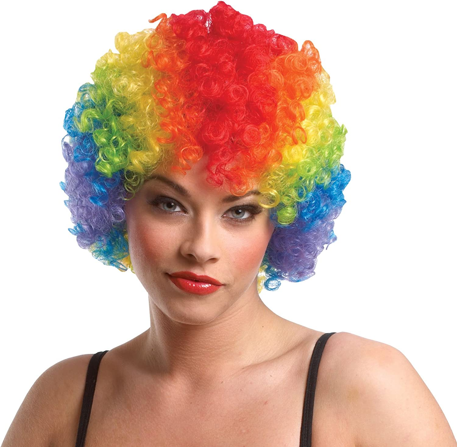 Recommended Ranking TOP14 Costume Culture Women's Rainbow Clown Afro Wig