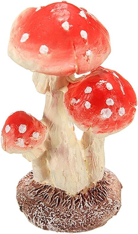 Set If Three Metal T Light Mushrooms// Toadstools Fairy Garden