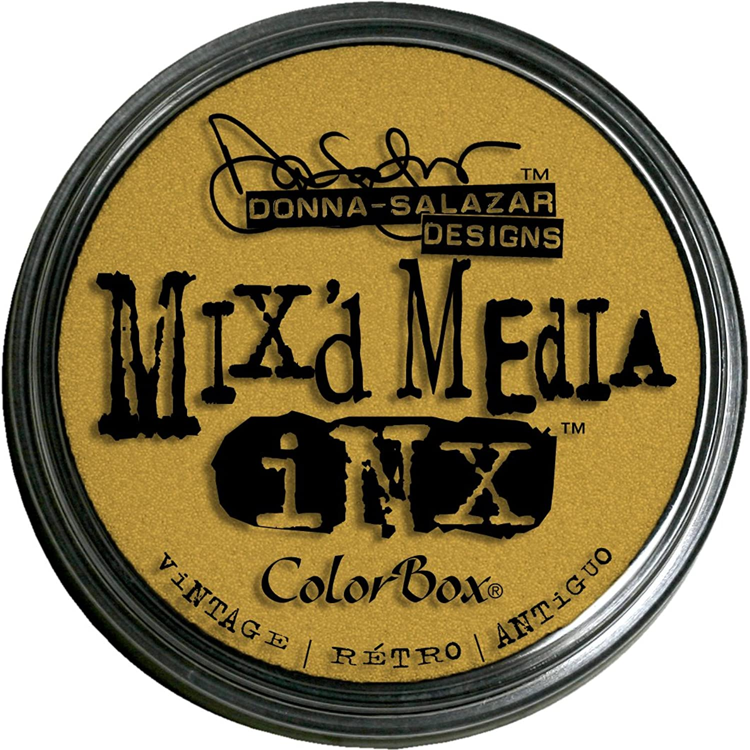 Mix'd Media Inx by women Salazar Rubber Stamp Ink Pads, Vintage color