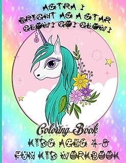 Astra Bright as a star. Glow! Go! Glow!: kids ages 4-8 fun kid workbook