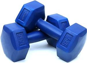 Delta Unisex Plastik Altıgen Dambıl 2 Adet 1, 5 Kg Ds 1150, Mavi, Tek Beden