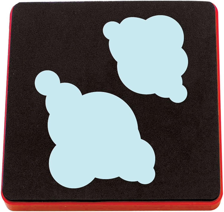 salida de fábrica Sizzix marca de tiempo nubes nublado A10129 A10129 A10129 [Japoen original]  elige tu favorito