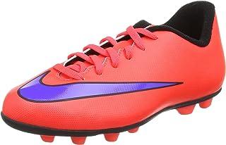 Nike Jr Mercurial Vortex II FG-R (BrightCrimson/PersianViolet) 4Y