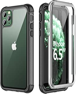 SPIDERCASE for iPhone 11 Pro Max Case, Built-in Screen Protector Full Heavy Duty..