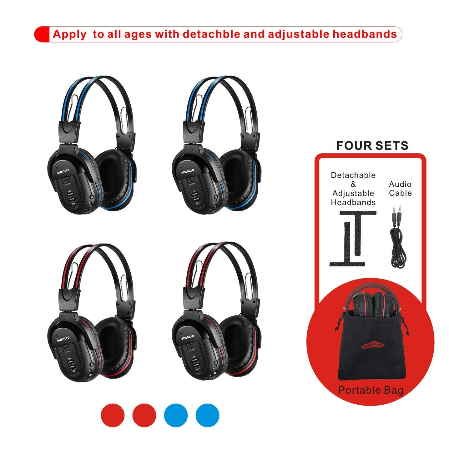 Wireless Headphones Entertainment System Channel