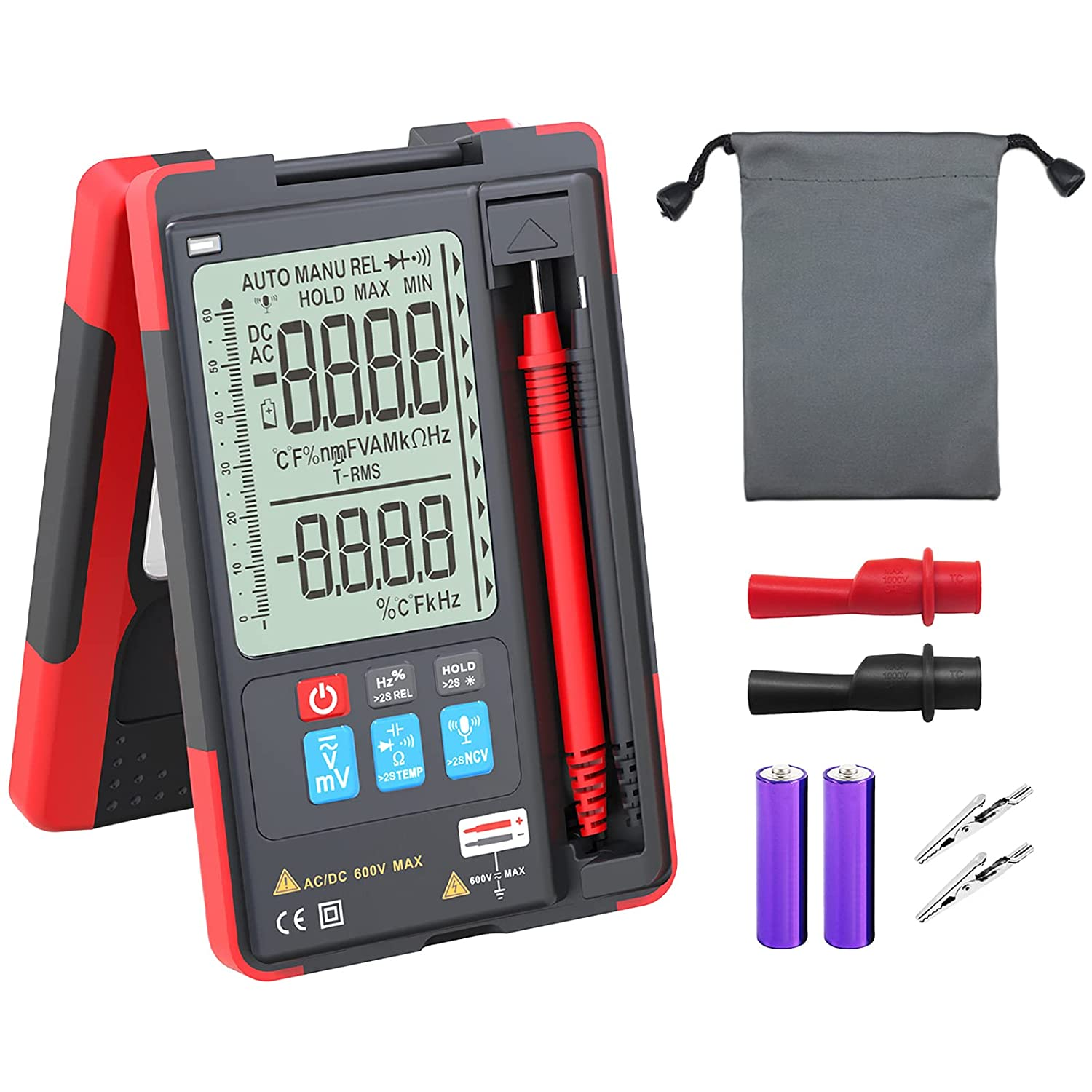 Vafany Store Digital Selling and selling Multimeter with Control Voice Auto-Ranging Meter