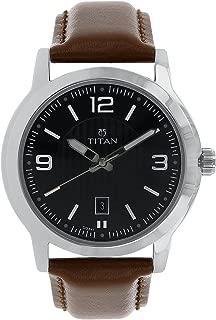 Neo Men's Designer Watch - Quartz, Water Resistant, Leather/Stainless Steel Strap