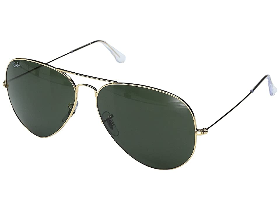 Ray-Ban RB3025 Original Aviator 62mm (Arista Gep/G-15 XLT Lens) Metal Frame Fashion Sunglasses