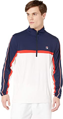 Heritage Tennis 1/4 Zip Windbreaker