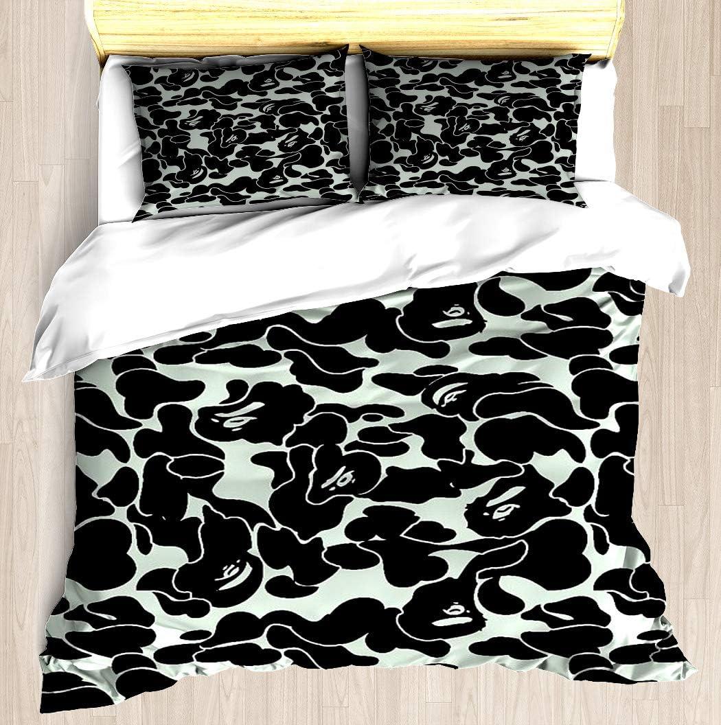 NTCBED camo Grey - Duvet Pillowca Cover Set Comforter Direct store store Soft