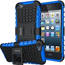 ykooe iPod Touch 7 Case, Touch 6 Case, Touch 5 Case, Heavy Duty Protective Cover Dual..