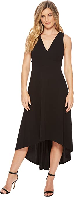 Calvin Klein Deep V High-Low Gown CD8B18JR