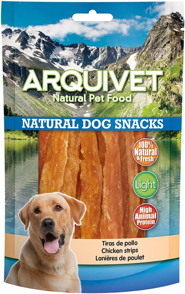 Tiras de pollo 100 g: Amazon.es: Productos para mascotas