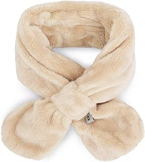 Kids Faux Fur Winter Scarf Thick Plush Neck Wrap   Scarves for Boys Girls Age LC
