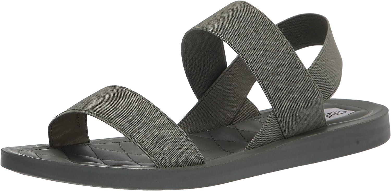 Steve Max 61% OFF Madden Women's Rafa Indefinitely Flat Sandal