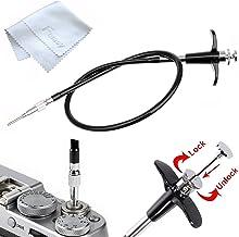 Fotasy 70cm Mechanical Cable Shutter Release with Bulb-Lock for Fujifilm X10 X20 X30 X100s X100t X-Pro1 X-Pro2 X-E1 X-E2, ...