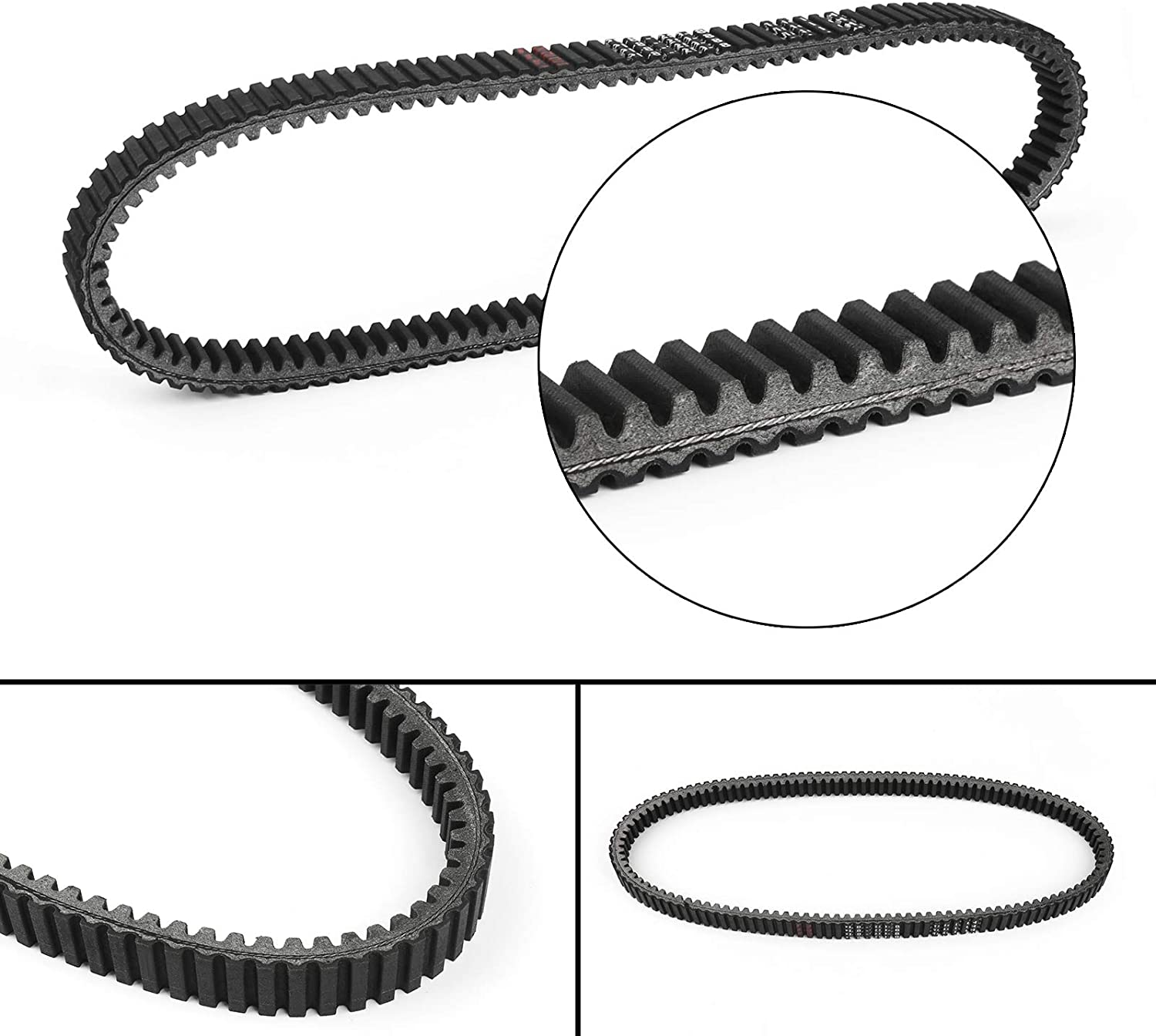 Drive Belt 23100-MCT-003 Bruce Max 72% OFF Shark Silver FJS600 In stock W Honda for