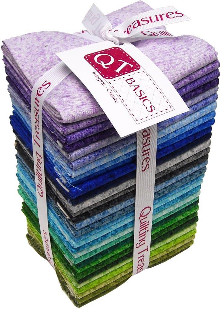 Ranking TOP8 Color Blends~ Cool Fat Quarter Bundle 30~Aqua gift Quilting of by Tre