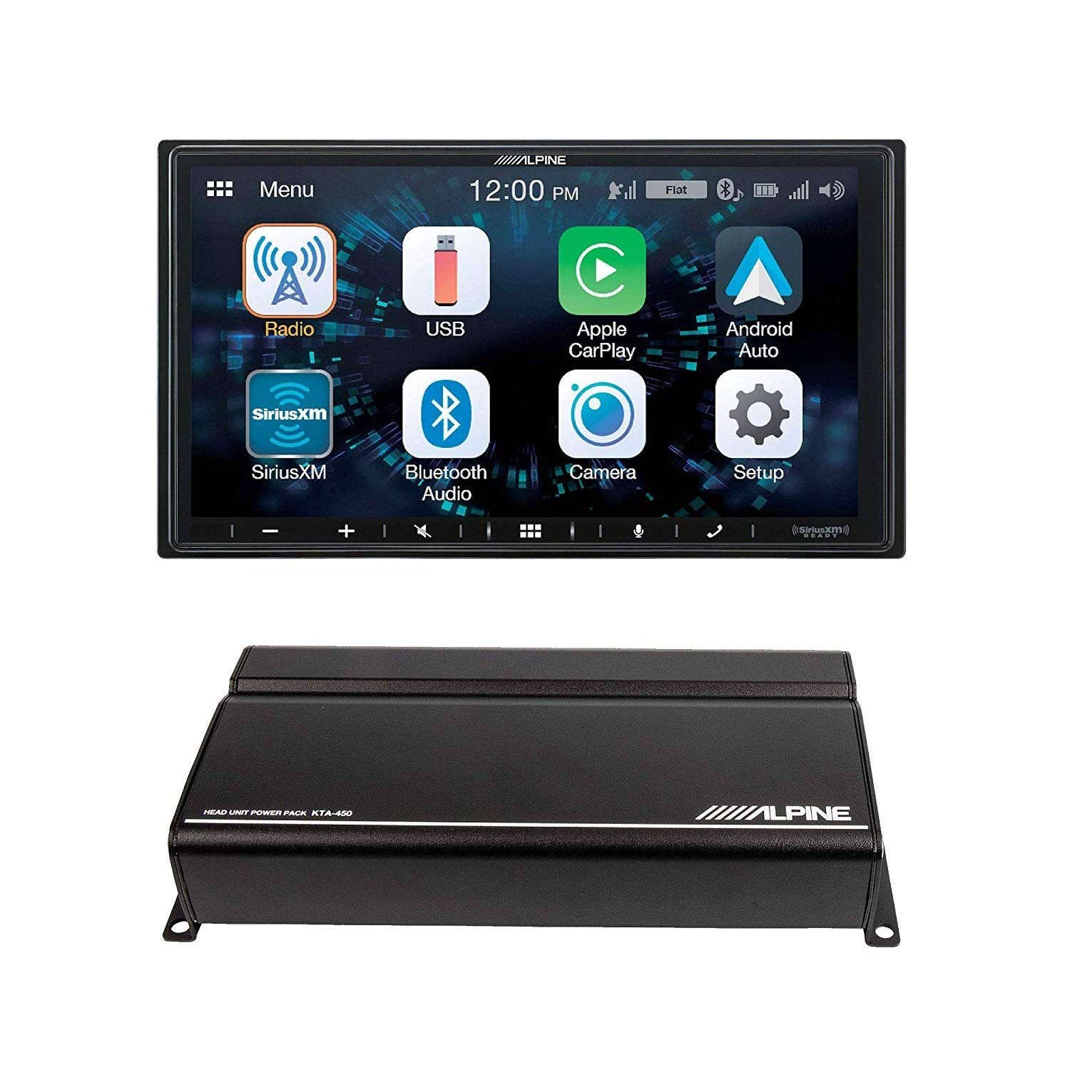 Alpine iLX W650 Receiver Compatible CarPlay