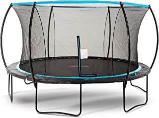 SkyBound Cirrus 14 Foot Trampoline with Updated Safety Net & Top Ring for 2019 - Exceeds