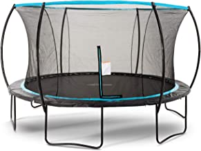 SkyBound Cirrus 14 Foot Trampoline with Safety Enclosure Net - Rated for Kids and Teens
