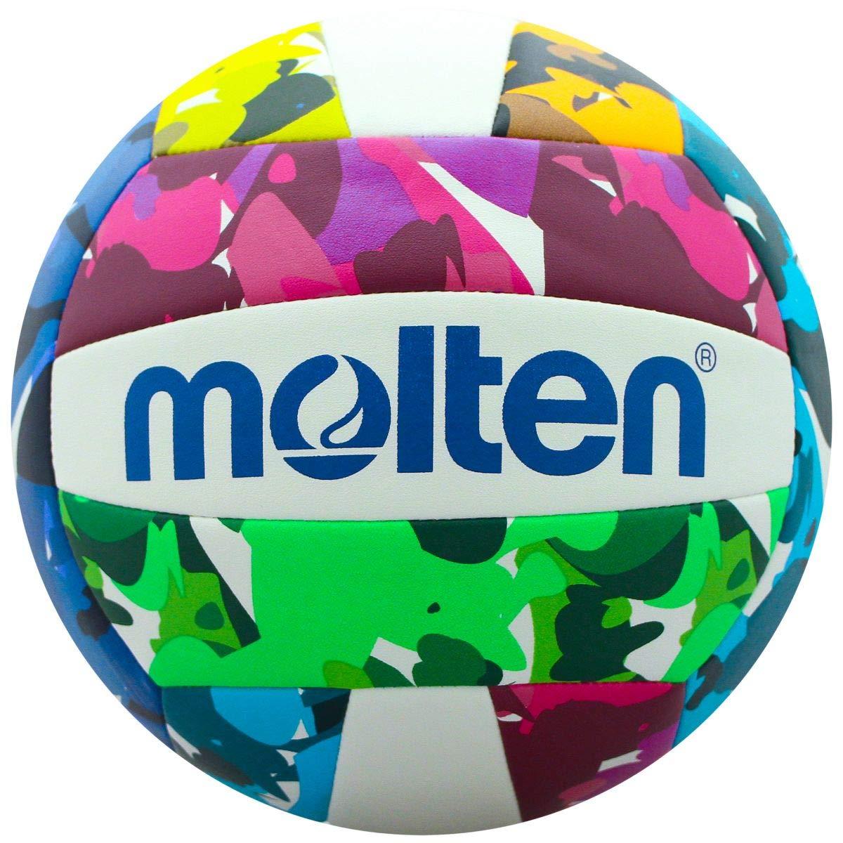 MOLTEN Neon Camo - Balón de Voleibol recreativo: Amazon.es ...