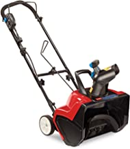 Toro 38381 18-Inch 15 Amp Electric 1800 Power Curve Snow Blower,Black