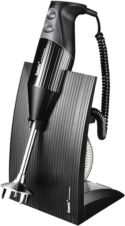 Bamix–Swissline Black 200W–Robot de Cocina Batidora de inmersión