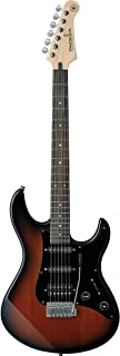 Yamaha Pacifica Series PAC012DLX Electric Guitar; Old Violin Sunburst