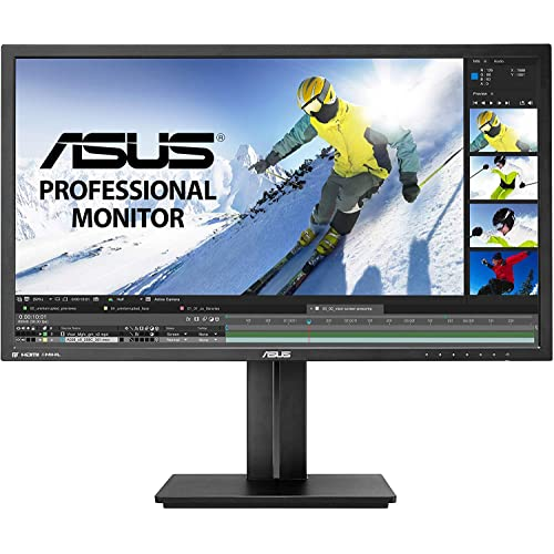 "ASUS PB287Q 28"" 4K/ UHD  3840x2160 1ms DisplayPort HDMI Ergonomic Back-lit LED Monitor,Black"