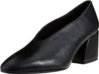 Womens Vagabond Olivia Black Office Work Block Heel Pointed Toe Shoes