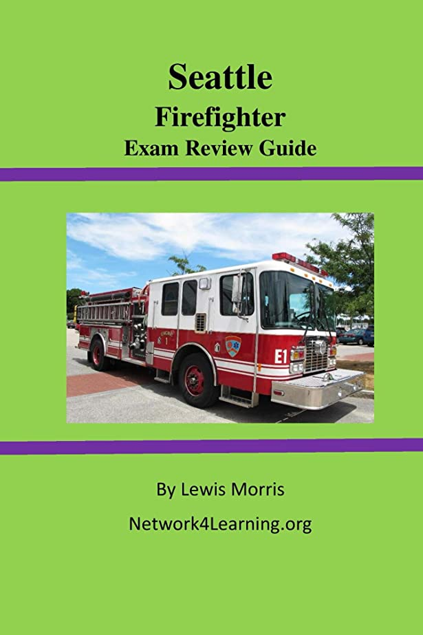 ロバ目の前の高層ビルSeattle Firefighter Exam Review Guide (English Edition)