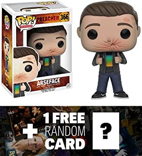 Preacher Arseface: Funko POP! x Vinyl Figure + 1 Free American TV Themed Trading Card Bundle (111515)