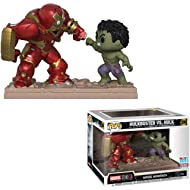 POP! Funko Marvel Studios: The First Ten Years - Hulkbuster vs Hulk Movie Moments Vinyl Figure...