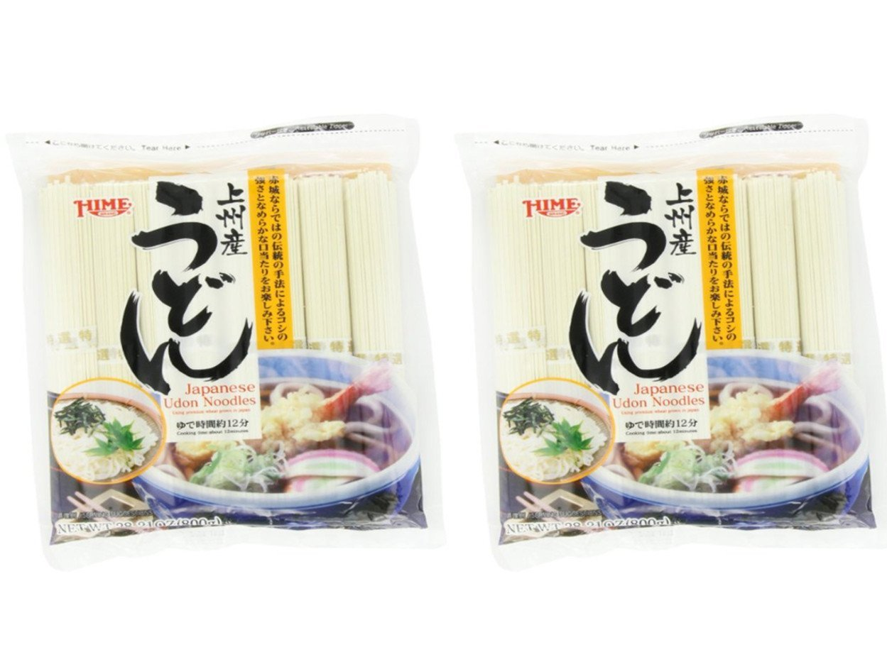 Twin Pack Hime Dried Udon 28.21-Ounce 2 Noodles of Be super welcome Long Beach Mall