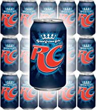RC Cola, Royal Crown Cola Soda, 12oz Can (Pack of 15, Total of 180 Fl Oz)