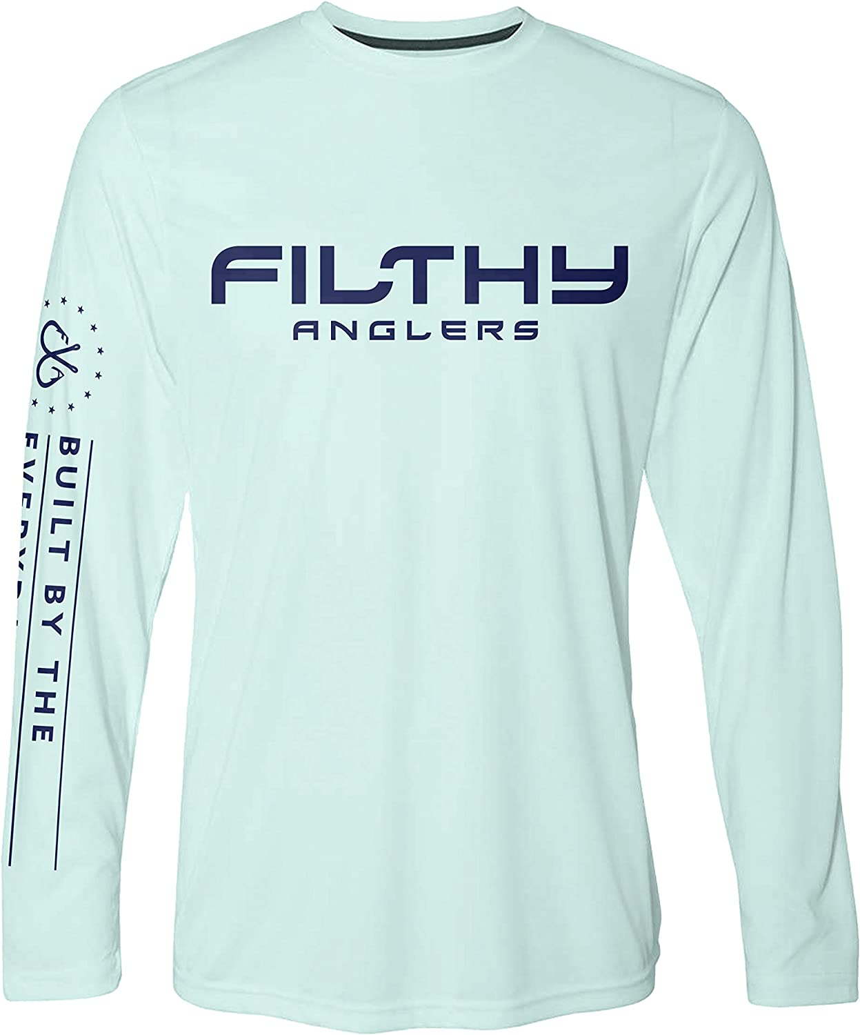 Filthy Anglers Fishing Shirt Long NEW before selling ☆ Sleeve Protection Sun UPF Weekly update 50+