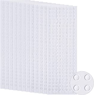 2400 Pieces Foam Dots Dual-Adhesive 3D Foam Tapes Foam Pop Dots Adhesive Mount for Craft DIY Art or Office Supplies, 12 Sh...