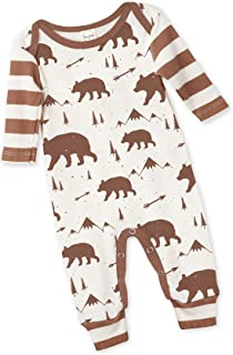 Tesa Babe Clothes Romper with Forest & Animals Print for Newborns & Baby Boys & Girls